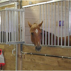 Feed door option for horse stalls