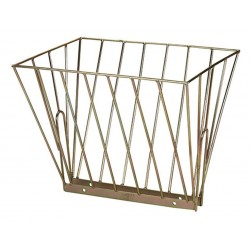 Double metal hay feeder 61,5 x 50 x 48cm