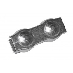 Connector for rope 6mm galvanized, package of 5