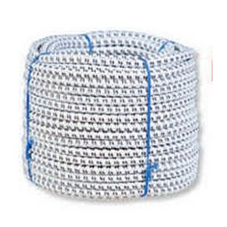 Electrified and elastic rope