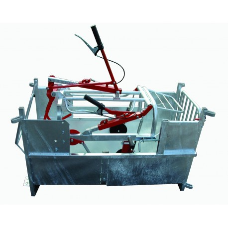 Hydraulic turnover crate (sheep/goat)