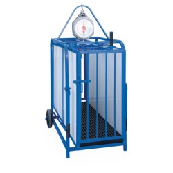 Hog & sheep weighing cage (no scale)