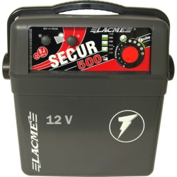 Secur 500 battery energizer