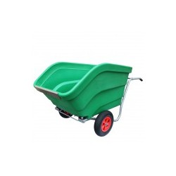 Dumping wheelbarrow 330L or 600L